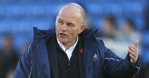 Andy Robinson will be desperate to lead Bristol back into the Premiership
