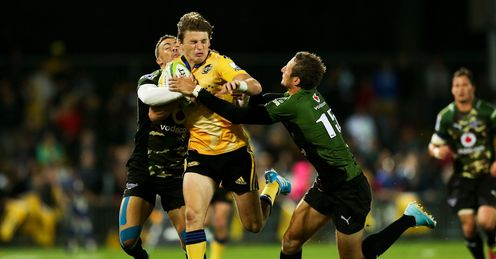BEAUDEN BARRETT HURRICANES BULLS SUPER RUGBY