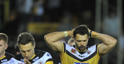CASTLEFORD SUPER LEAGUE LUKE DORN FRANKIE MARIANO