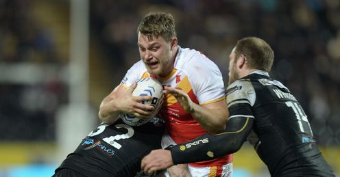 ELLIOTT WHITEHEAD CATALAN DRAGONS HULL FC