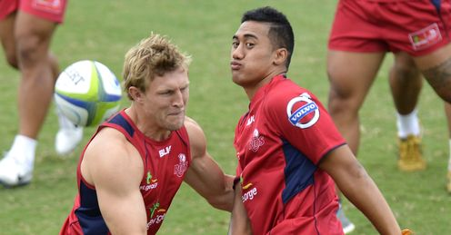 Jamie-Jerry Taulagi Queensland Reds Super Rugby