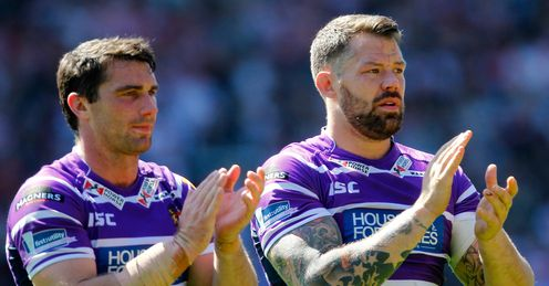 Jordan James Wigan Warriors Matty Smith Super League