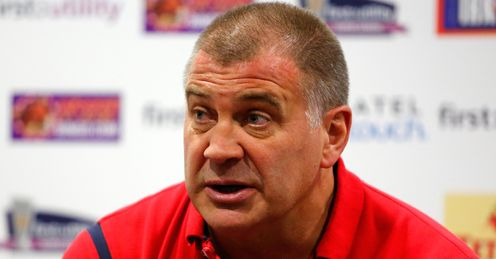 LANGTREE LEAGUE PARK RUGBY SUPER WIGAN SHAUN WANE V ST HELENS