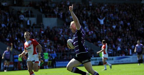 LIAM FARRELL WIGAN WARRIORS ST HELENS