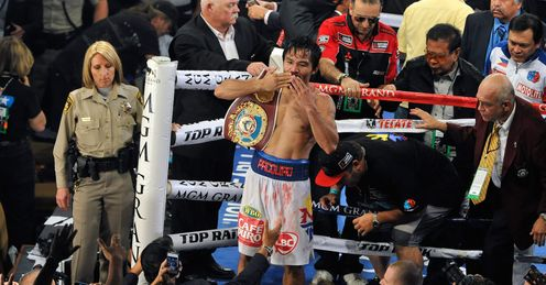 Back to his best: Manny put on a masterclass, says Glenn