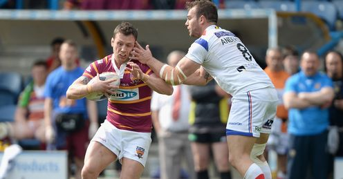 RUGBY RUGBY LEAGUE SUPER LEAGUE HUDDERSFIELD GIANTS NAMED RUGBY LEAGUE TEAM SHAUN LUNT SCOTT ANDERSON HUDDERSFIELD V WAKEFIELD