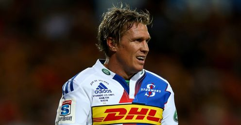 RUGBY UNION JEAN DE VILLIERS STORMERS SUPER RUGBY