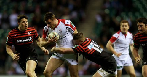 Saracens Ulster Tommy Bowe