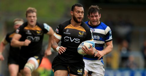 UNION CHALLENGE CUP Helu Will Wasps Bath