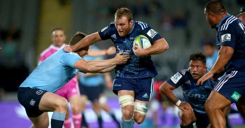 UNION Dave Dennis Blues Waratahs