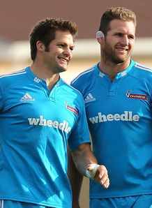 richie mccaw kieran read new zealand training
