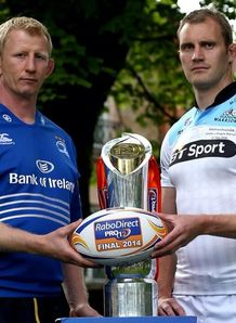 Al Kellock and leo cullen pro12 final promo