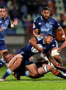 Charles Piutau Blues v Chiefs SR 2014