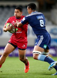 Chris Feauai Sautia Reds v Blues SR 2014