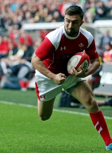 Jordan Williams Wales trial match