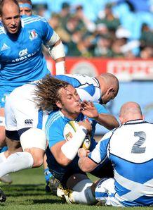 Josh Furno Italy v Scotland 2014
