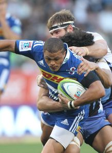 Juan de Jongh of the Stormers v Force 2014