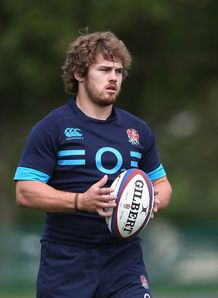 Luke Cowan Dickie at England training