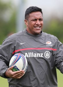 Mako Vunipola Sarries training 2014