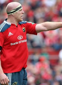 Paul O Connell Munster v Toulon HEC 2014