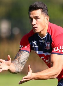 Sonny Bill Williams Roosters training NRL 2014