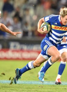 Stormers centre Jean de Villiers making a break against Cheetahs