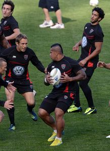 Toulon training session