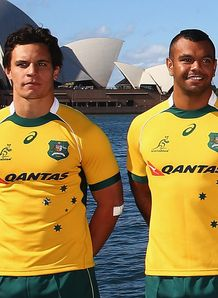 Wallaby squad members Matt Toomua Kurtley Beale
