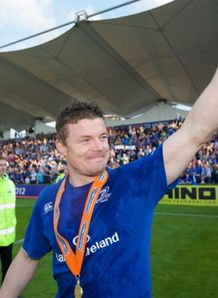 brian o driscoll wins pro12 retirement leinster