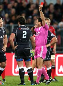 jean deysel red card sharks v crusaders