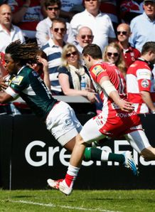 marland yarde scores for london irish v gloucester