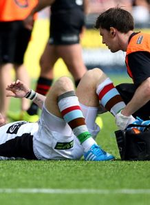 mike brown injury saracens v harlequins