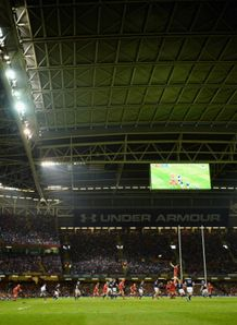 millenium stadium roof closed