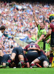northampton saints alex waller saracens premiership final try