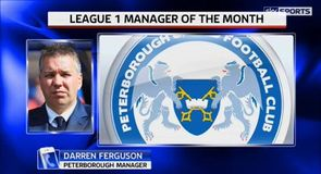 Ferguson named League 1 manager of the month