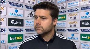Pochettino - We were lucky to score