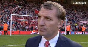 Rodgers proud of Liverpool effort