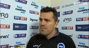 Garcia: Derby were much better