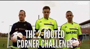 Two Footed Corner Challenge - Stoke City