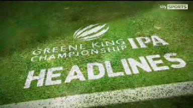 IPA Green King Championship Headlines - Final Round