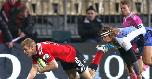 johnny mcnicholl crusaders force