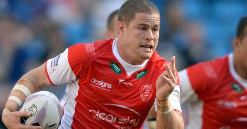 Travis Burns Hull KR Super League