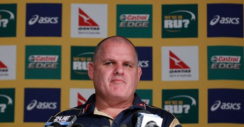 Ewen McKenzie Wallabies coach 2014