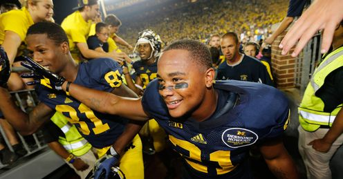 Jeremy Gallon was a star on Michigan's offence, says Alex