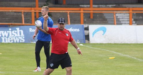 Joe Grima London Broncos head coach