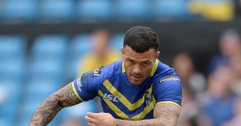 Chris Bridge Warrington Wolves Super League