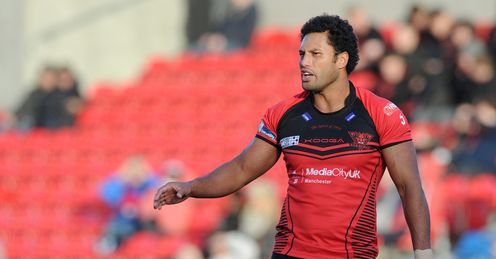 Francis Meli Salford Red Devils Super League Rugby league