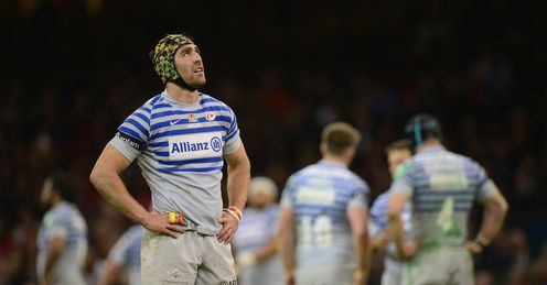 Kelly Brown and Saracens were losing finalists against Toulon in the Heineken Cup
