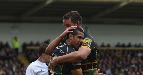 Ken Pisi Phil Dowson  Northampton Saints