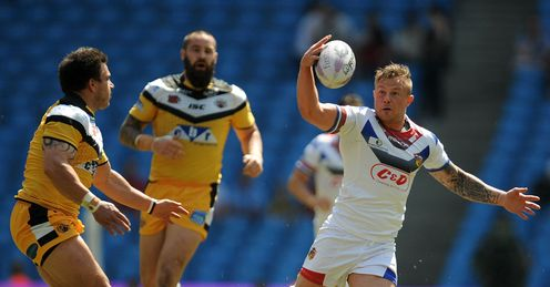 RUGBY LEAGUE MAGIC WEEKEND DAY TWO ETIHAD STADIUMn CASTLEFORD V WAKEFIELD HARRY SIEJKA